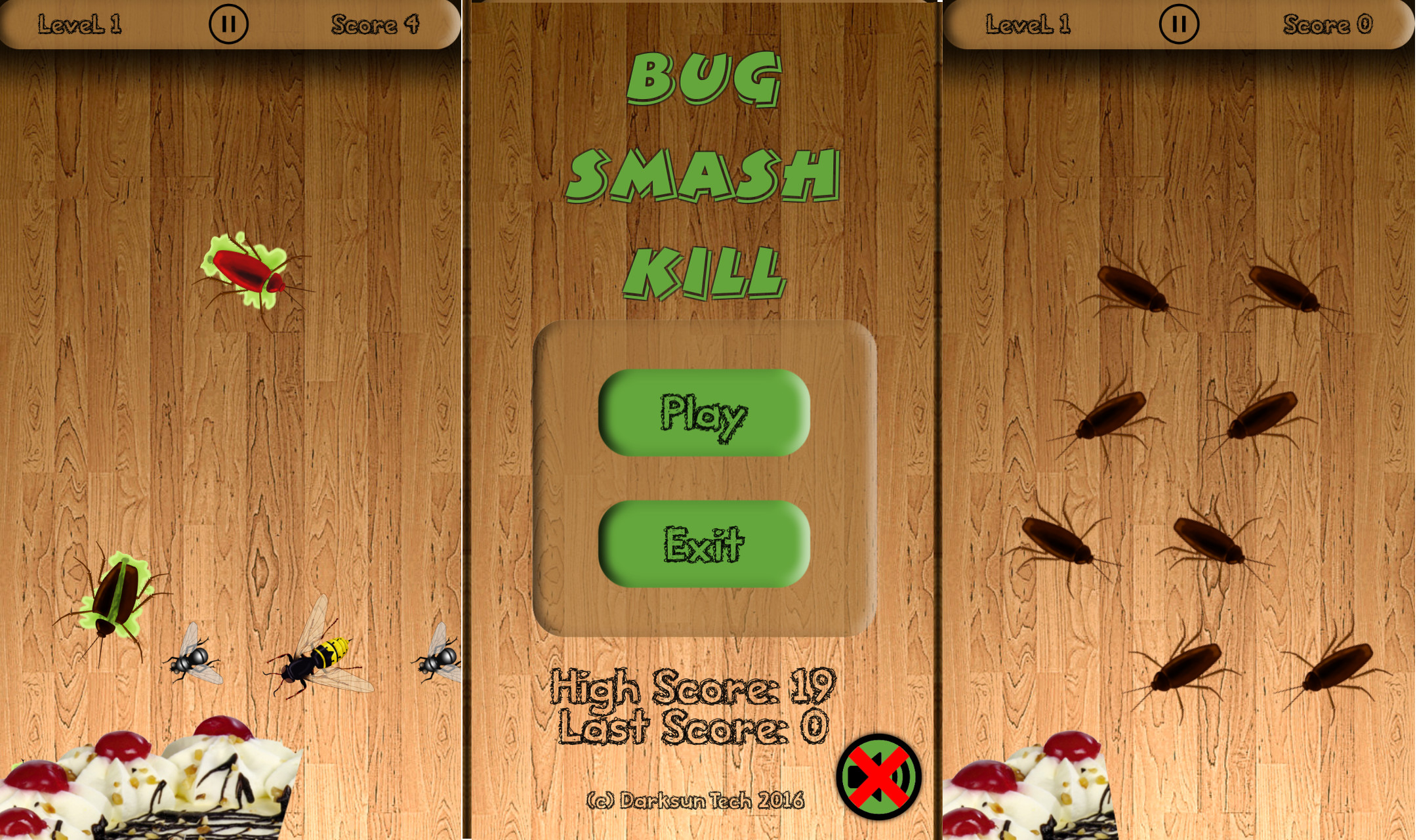 Bug Smash Kill - Android Game by Darksun Tech alt